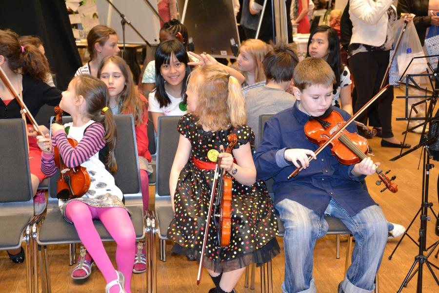 Our small violinists