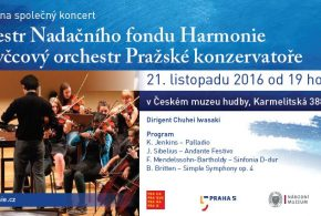 Concert with the Prague Conservatoire's String Orchestra