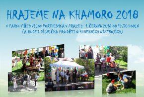 Playing at the Khamoro 2018 Festival